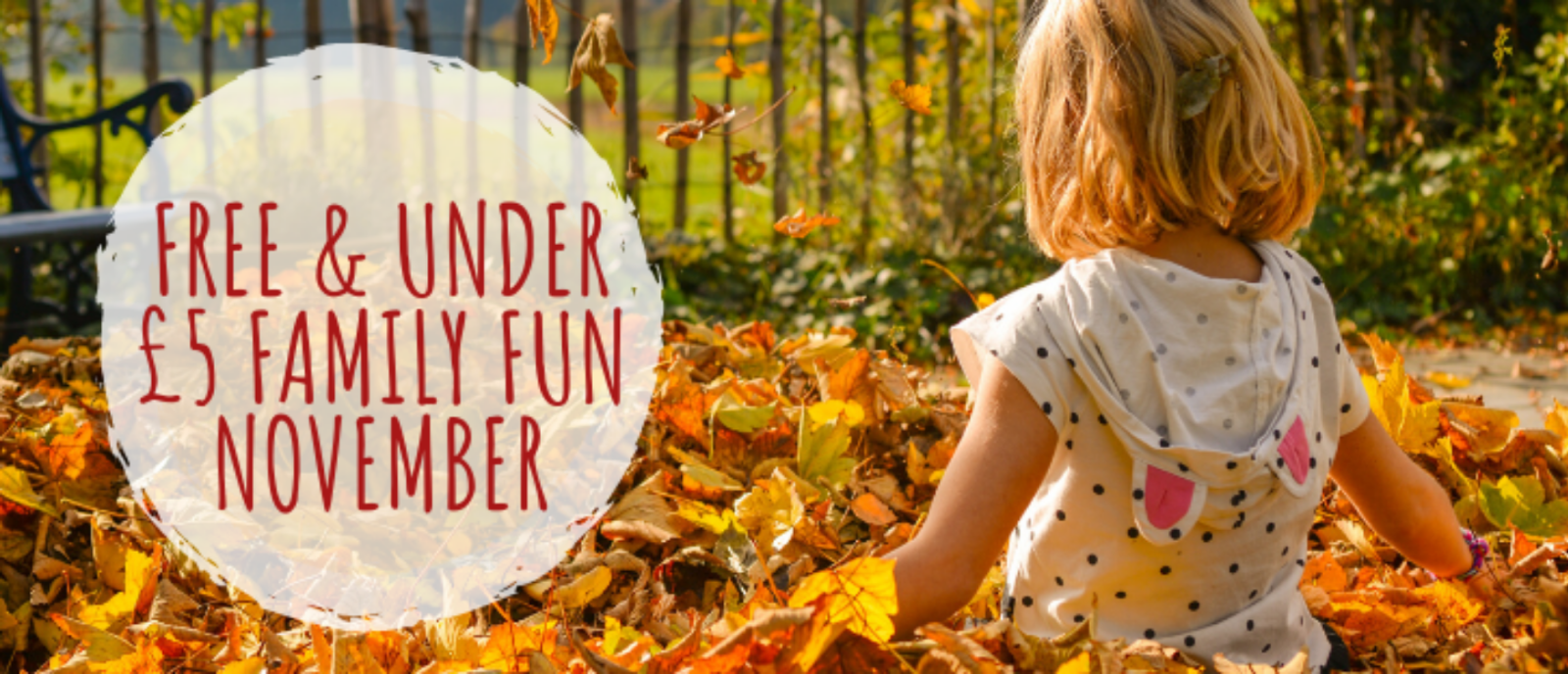 Free and under £5 activities for November