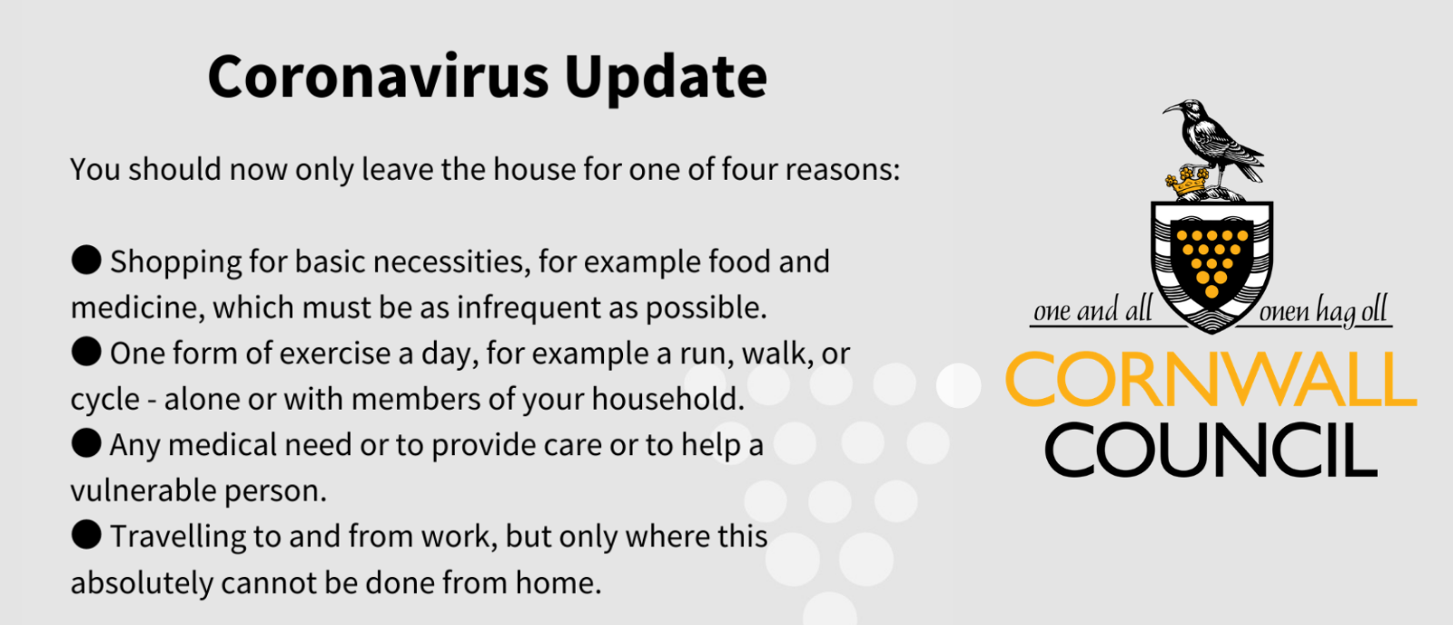 Click this image for updated information regarding the Corona Virus COVID19