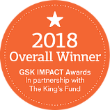 2018 Overall Winner of the GSK Impact Awards