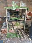 The bug hotel in our nature garden