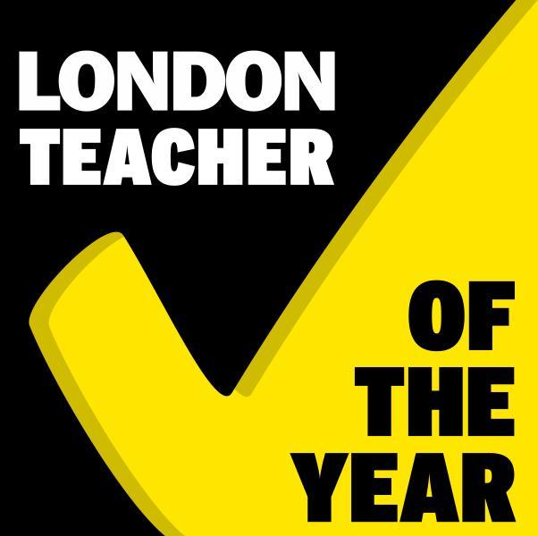 London Teacher of the Year logo