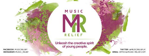 Music Relief Unleash the creative spirit of young people