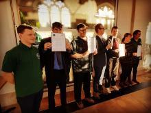Lowther employability awards presentation