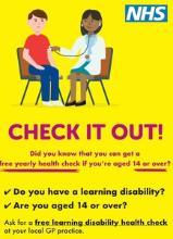 NHS Annual Health Check Logo