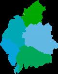 Map of Cumbria image