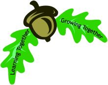 School logo; Learning together, Growing Together