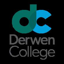 Derwen College logo