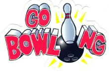 Monthly Bowling sessions, Free for people with Down's Syndrome. 1st Friday of the month. 6pm.