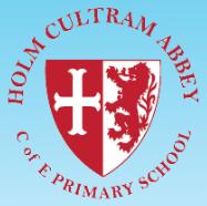 Holm Cultram Abbey CofE School Logo