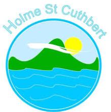 Holme St Cuthbert School Logo