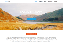Lakes Therapy Website