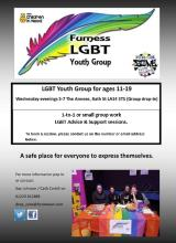 LGBTQ+ support group.