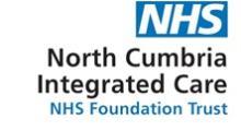 North Cumbria Integrated Care NHS Trust Logo