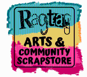 Ragtag Arts and Community Logo