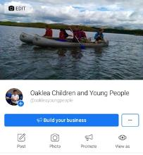 Keep up to date via our dedicated Facebook page www.facebook.com/oakleayoungpeople