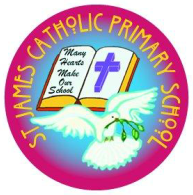 St James' Catholic Primary School Logo