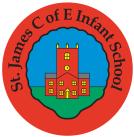 St James' CofE Infant School Logo