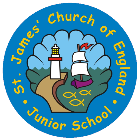 St James' CofE Junior School Whitehaven Logo