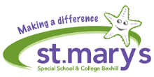 St Mary's Special School and 6th Form College Logo