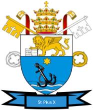St Pius X Catholic Primary School Logo