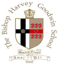 The Bishop Harvey Goodwin Nursery School Logo
