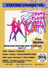 Youth Work delivery leaflet June 2021