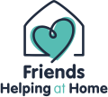 Friends helping at home logo