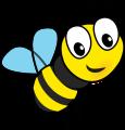 Bee's childminding logo