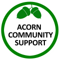 Acorn Community Support logo