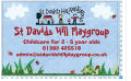St David's Hill Playgroup logo