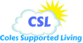 CSL- Coles supported Living Logo