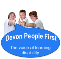Devon People First logo