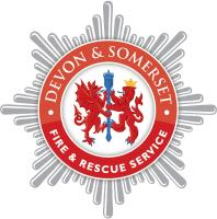 Devon & Somerset Fire badge