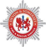 Devon & Somerset Fire badge