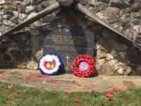 Propeller Memorial at Dunkeswell; Remembrance Gathering 2019