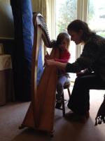 Emma Graham's harp lessons