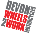 Devon Wheels 2 Work Logo