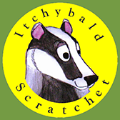 Itchybald Scratchet books logo
