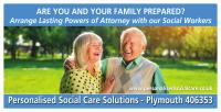 Banner image with two older people