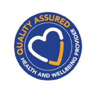 Quality Assured health and wellbeing provider logo