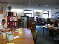 Interior view of the North Devon Local Studies Centre