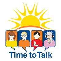 Time to Talk logo