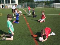 Young disability footballers