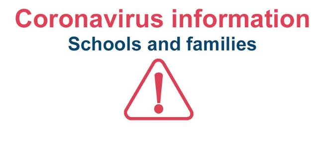 Coronavirus: schools and families