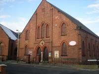 Harrowgate Hill Methodist Church - Lowson Street entrance