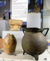 Displays inside the Museum of Archaeology
