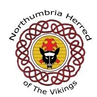 Northumbria Vikings Logo