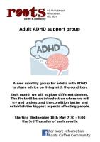 ADHD Adult support group