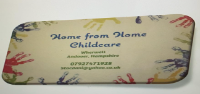 Home from Home Childcare- cabin based, free-flow, child-led setting.