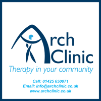 Arch logo with details